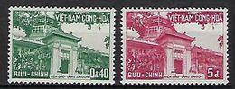 """Viet-Sud YT 104 & 105 """" Musée """" 1959 Neuf** MNH - Viêt-Nam"""