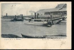 Numansdorp - Rijns Haven - Ship Boot - 1904 - Netherlands