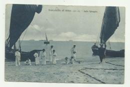 FRANCAVILLA AL MARE - SULLA SPIAGGIA 1909  VIAGGIATA FP - Chieti