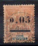 COTE D'IVOIRE - YT N° 18 - Cote: 105,00 € - Côte-d'Ivoire (1892-1944)