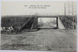CPA Cicruit De La Sarthe 1906 Sortie De Vibraye 24 Heures Du Mans Automobile - Le Mans