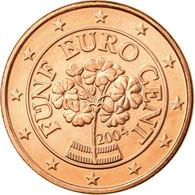 Autriche, 5 Euro Cent, 2004, SUP, Copper Plated Steel, KM:3084 - Austria