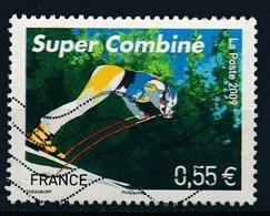 France - Championnats Du Monde De Ski Alpin - Super Combiné  YT 4329 Obl Ondulations - 2008-13 Maríanne De Beaujard