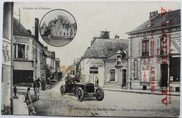 CPA Cicruit De La Sarthe 1906 24 Heures Du Mans Automobile Virage à Connerré Tampon Tailleur A. Louis XIV 24 Rue Dumas - Le Mans