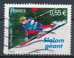 France - Championnats Du Monde De Ski Alpin - Slalom Géant YT 4332 Obl Ondulations - 2008-13 Marianne De Beaujard