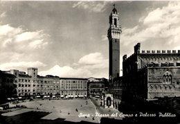 SIENA - Piazza Del Campo E Palazzo Pubblico - Siena