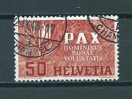 1945 Switzerland 50 Cent PAX Used/gebruikt/oblitere - Suisse