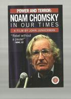 """**   -1 X NOAM  CHOMSKY  In Our Times    """""""" Afilm By JOHN JUNKERMAN"""" - Acteurs"""