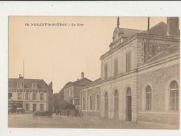 28 NOGENT LE ROTROU LA GARE CPA BON ETAT - Nogent Le Rotrou