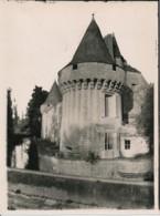 Photographie Ancienne Grand Format DAMPIERRE SUR BOUTONNE (17) Le Château Photographe Jules ROBUCHON - Photos
