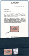 "BELGIAN CONGO 1909 ISSUE ""PRINCES"" COB 47PB2 LH - Belgian Congo"