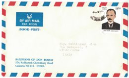 IN101  India 1997 Cover Air Mail  Sent To Italy - India
