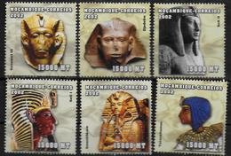 MOZAMBIQUE  N° 2014/19 * *  ( Cote 15e )  Egyptologie Rois D Egypte - Egyptologie
