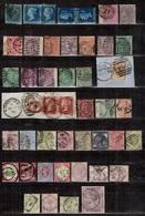 Grande-Bretagne Belle Collection De Classiques 1841/1900. Nombreuses Bonnes Valeurs. A Saisir! - Collections