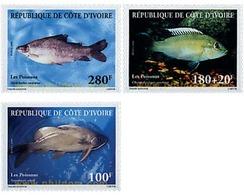 Ref. 49180 * MNH * - IVORY COAST. 1999. FISHES . PECES - Côte D'Ivoire (1960-...)
