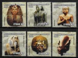 MOZAMBIQUE  N° 2020/25 * * ( Cote 18e )  Egyptologie Rois Et Reines D Egypte - Egyptologie