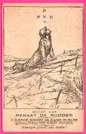 West Vleteren - Hulde Aan Renaat De Rudder - Soldat - Hommage - Zondag 1922 - Vleteren