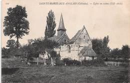 SAINTE MARIE AUX ANGLAIS - Eglise En Ruines - Andere Gemeenten