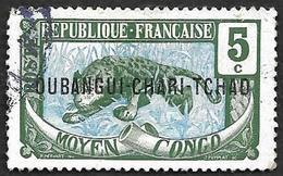 OUBANGUI-CHARI  1915-18 - YT 4 - Oblitéré - Oubangui (1915-1936)
