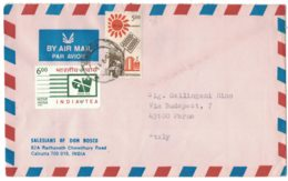 IN103  India 1993 Cover Air Mail  Sent To Italy - India