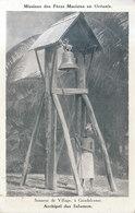 ILES SALOMON / GUADALCANAR . LE SONNEUR DU VILLAGE     ///  REF MAI 19 .  N° 8657 - Salomon