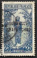 OUBANGUI-CHARI  1915-18 - YT 8 - Oblitéré - Oubangui (1915-1936)
