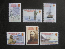 Territoire Antarctique Britannique: TB Série N° 349 Au N° 354, Neufs XX. - Neufs