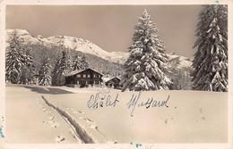 Cartolina Crans Sur Sierre En Zarboury Chalet Mussard 1943 - Cartoline