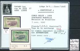 BELGIAN CONGO COB 30B8 LH - 1894-1923 Mols: Neufs