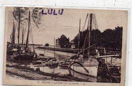 DEPT 33 : édit. L L N° 3 Blaye Le Port Et La Gare - Blaye