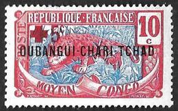 OUBANGUI-CHARI  1916 - YT 19 - NEUF* - Ungebraucht