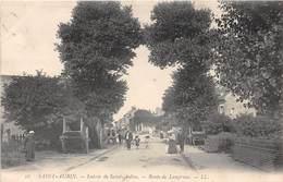 SAINT AUBIN SUR MER - Entrée De Saint-Aubin - Route De Langrune - Saint Aubin