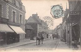 SAINT PIERRE SUR DIVES - La Rue De Lisieux - Frankrijk