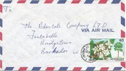 St Vincent 1986 Kingstown Tree Hymenaea Courbaril Cover - St.-Vincent En De Grenadines