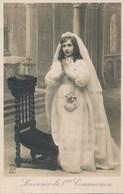 Carte Postale Religieuse - Souvenir De 1ère Communion - Devotion Images