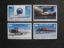 Territoire Antarctique Britannique: TB Série N° 407 Au N° 410, Neufs XX. - Neufs