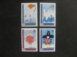 Territoire Antarctique Britannique: TB Série N° 411 Au N° 414, Neufs XX. - Neufs