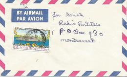 St Vincent 1974 Kingstown Cruise Ship Istra Cover - St.Vincent & Grenadines
