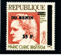 Bénin 1997 ( 35F/125F - Marie Curie )  ** Luxe  TRES RARE - Bénin – Dahomey (1960-...)