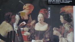 Télécarte Puzzle Georges De La Tour Musée Du Louvre Sous Blister Tirage 12 500 Ex - Francia