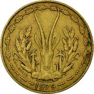 Monnaie, West African States, 10 Francs, 1979, Paris, TB+ - Côte-d'Ivoire