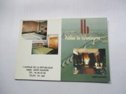 Carte Pub - Saint Nazaire Hotel Le Bretagne - Saint Nazaire