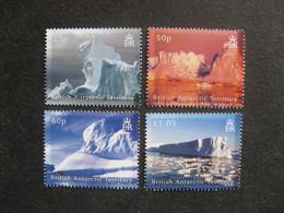 Territoire Antarctique Britannique: TB Série N° 451 Au N° 454, Neufs XX. - Neufs