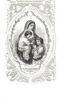 CANIVET IMAGE PIEUSE DENTELLE VERTUS DE MARIE - Imágenes Religiosas