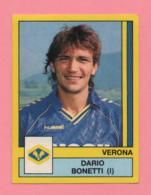 Figurina Panini 1988-89 - Verona, Dario Bonetti (I) - Trading Cards