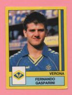 Figurina Panini 1988-89 - Verona, Fernando Gasparini - Trading Cards