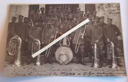 1914 1918 Musique Clique De L'IR 27 Meuse Cor Tuba Hautbois Fifres Tambour Chinois Poilus Tranchées 1914 1918 14 18 WW1 - Krieg, Militär