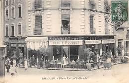Romans Sur Isère     26    Place Lally-Tollendal  Brasserie Café Bonnet   (Voir Scan) - Romans Sur Isere