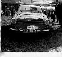 PHoto D'un Véhicule Automobile SIMCA Immatruclé Dans Le 10 Aube Plaque Foire à Tout De Boisgeloup Gisors - Automobiles