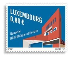 Luxemburg 2019  NATIONAL LIBRARY NATIONALE BIBLIOTHEEK                 Postfris/mnh/neuf - Luxemburg